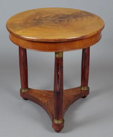 veneered with mahogany, brass fittings, early 20th century