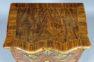 konstrukcja sosnowo-dębowa, okleiny orzechowe, mosiężne okucia, ok. 1900r.