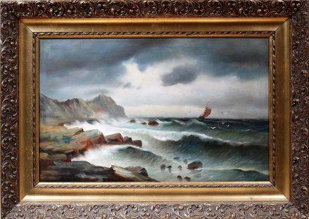 oil/canvas, ca c1910, sig. Orelski