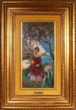 oil/canvas, sig. A. Sarno, Italy XX thC