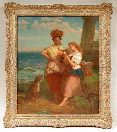 olej/płótno, syg. J. Stokeld 1869
