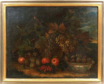 olej/płótno, niesygnowany, Europa południowa, XVIII/XIX w.