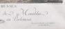 ręcznie kolorowany miedzioryt, B.L.HENRIQUEZ 1768r.