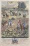 ręcznie kolorowany miedzioryt, Richard Blome, Londyn kon. XVII w.