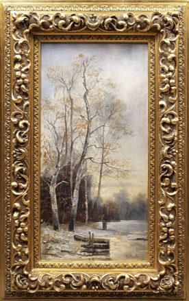 olej/płótno, syg. Merville, II poł. XIX w.