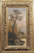 oil on canvas, sig. JBessi end of 19thC