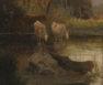 olej/płótno, syg. JBessi II poł. XIX w.