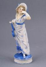porcelana, Ernst Bohne & Sohne kon. XIX w