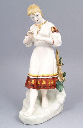 porcelana, syg. Połonne Ukraina, ok. 1970r