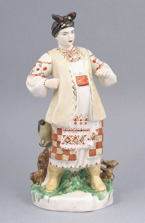 porcelain, sig. Made in USSR, beginning of XX thC