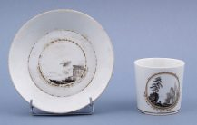 porcelain, sig. Gotha end of XVIII thC