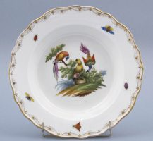 porcelain, sig. Meissen I half of the XIX thC