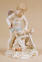 porcelain, Meissen end of XIX thC