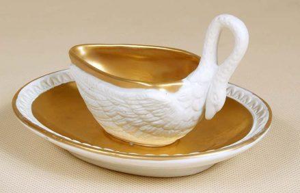 Biskwit złocony. Francja XIX w.