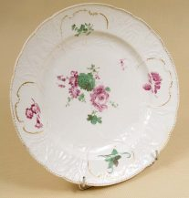 porcelain, sig. Meissen half of the XVIII thC,