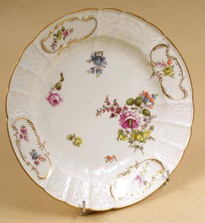 porcelain, sig. Meissen II half of the XVIII thC