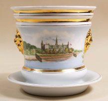 porcelana, ręcznie malowana Wałbrzych, kon. XIX w