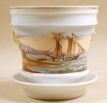porcelana, ręcznie malowana, kon. XIX w