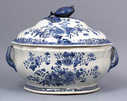 porcelana, Chiny, kon. XVIII w.