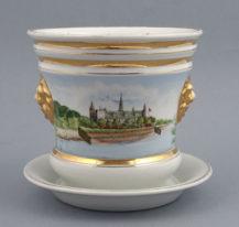 porcelana ręcznie malowana, Wałbrzych, kon. XIX w.