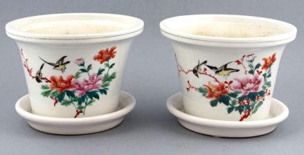 Porcelana ręcznie malowana, Śląsk, początek XX w.
