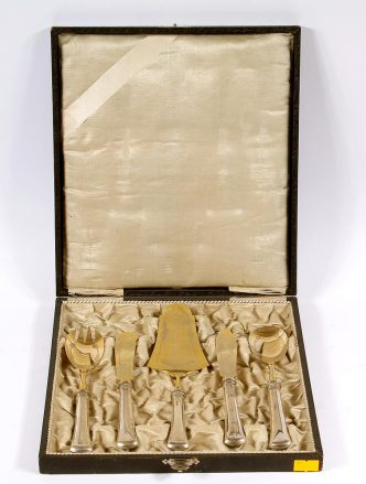 silver, gilt, ca c.1920