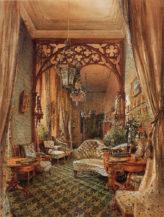 Część sali w pałacu Clary-Aldringen w Wiedniu, 1846r.