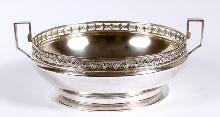 silver, weight 526 grams Austria - Hungary; ca c1920.
