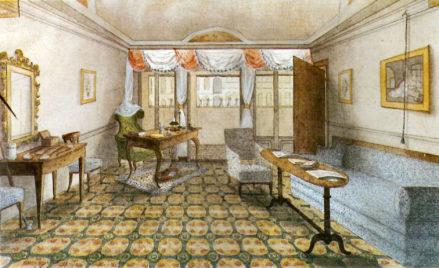 Pokój Barona Ferdynanda Hildprandt w Wenecji, 1843r.
