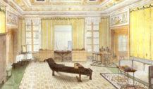 Pokój-sypialnia baronowej Karoliny Hildprandt w Wenecji, 1843r.