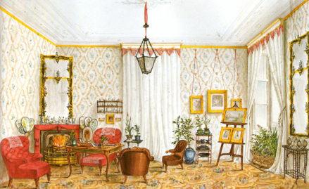 Salon Antoniego Puteaniego w Pradze, 1843r.