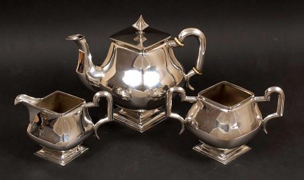 silver, weight 1118 grams Austria - Hungary, ca c1900, Silversmith MG.