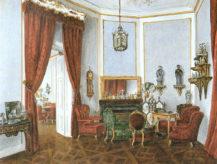 Salon Cernin w pałacu Vinor, 1846r.