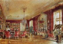 Salon Upper Belvedere w Wiedniu, 1856r.