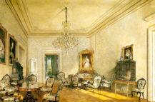 Salon w pałacu rodziny Buquoy w Nové Hrady