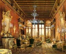 Salon pałacu Clary-Aldringen, 1868r.
