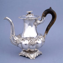 silverplatedware, height 20 cm