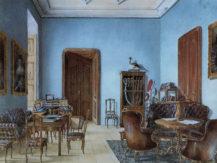 Gabinet męski - pokój myśliwego, 1849r.