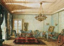 Salon Windischgraetza w Kwaterze Głównej w Pradze