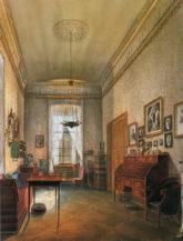 Pracownia w Isenburg Palace w Mannheim, 1861r.