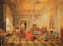 Salon Ficquelmont w Neapolu, lata 1825-1827.