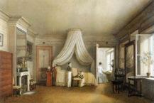 Sypialnia ambasady austriackiej w Paryżu, 1812 r.