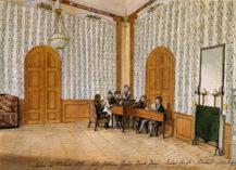 Towarzystwo Muzyczne na zamku Štěkeň, 1817r.