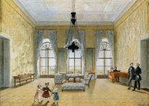 Wielki Salon Kinskych na zamku w Kostelec nad Orlici, 1837r.
