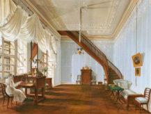 Salon pałacu Kinskych w Pradze na Rynku Staromiejskim, 1828-1832r.