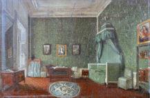 Sypialnia księcia Józefa Schwarzenberga w Wiedniu, 1841r.