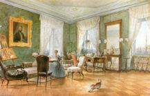 Salon w Trieście, 1849r.