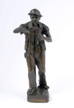 bronze, Silesia ca c1930