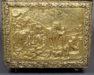 drewno iglaste, blacha mosiężna repusowana, około 1900 r.