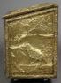 Coniferous wood construction, brass, c. 1900,